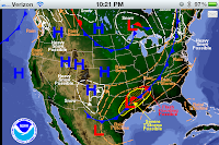 National Forecast Map
